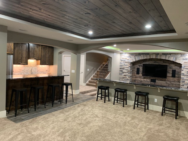 Custom, professional Interior finishing services for your home remodel and addition projects from Driftwood Builders in New Prague, MN.