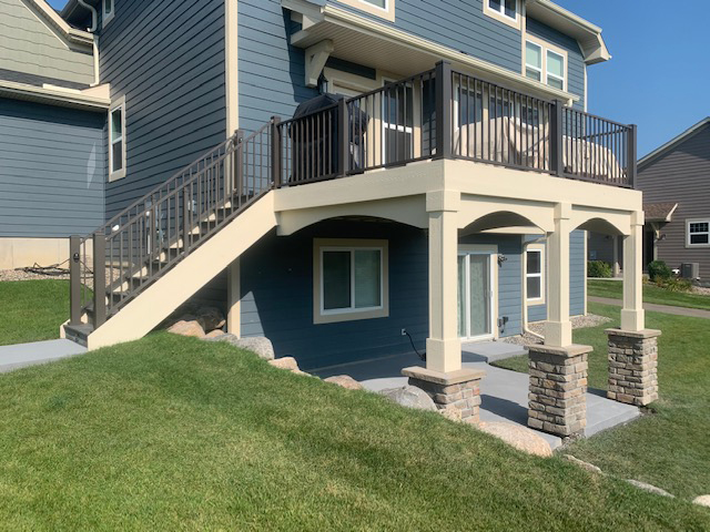 Exterior Living space expansion and extensions from Driftwood Builders, a professional and efficient general contractor in New Prague, MN.